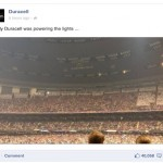 Duracell Superbowl lights Facebook
